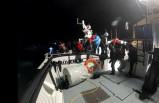 İzmir'de 19 kaçak göçmen kurtarıldı
