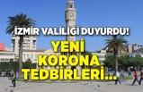 İzmir Valiliği duyurdu! Yeni korona tedbirleri