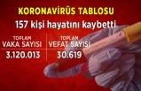 25 Mart koronavirüs tablosu