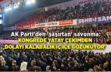 AK Parti'den 'şaşırtan' savunma: Kongrede yatay çekimden dolayı kalabalık iç içe gözüküyor'