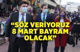 CHP İzmir'den İzmirli kadınlara 8 Mart sürprizi