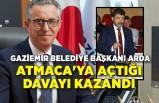 Halil Arda, Atmaca'ya açtığı davayı kazandı