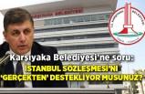 Karşıyaka Belediyesi'ne soru: İstanbul Sözleşmesi'ni 'gerçekten' destekliyor musunuz?