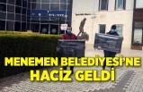 İzmir'de Menemen Belediyesi'ne haciz geldi