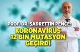 Prof. Dr. Sadrettin Pençe: Koronavirüs bir yılda 12 bin mutasyon geçirdi