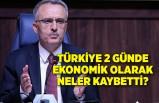 Türkiye 2 günde ekonomik olarak neler kaybetti?
