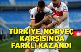 Türkiye, Norveç karşısında farklı kazandı