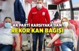 AK Parti Karşıyaka'dan rekor kan bağışı