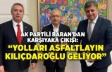 AK Partili Baran'dan Karşıyaka çıkışı: Yolları asfaltlayın Kılıçdaroğlu geliyor