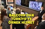 Balçova'dan Türkiye'ye örnek hizmet