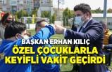 Başkan Erhan Kılıç, Buca'nın özel çocuklarıyla bir araya geldi