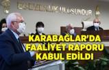 Karabağlar'da faaliyet raporu kabul edildi