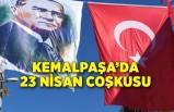 Kemalpaşa'da 23 Nisan coşkusu