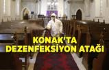 Konak'ta dezenfeksiyon atağı