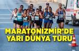 Maratonİzmir'de yarı dünya turu