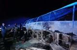 Mısır'da yolcu otobüsü devrildi: 20 ölü
