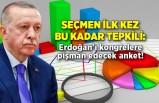 Seçmen ilk kez bu kadar tepkili: Erdoğan'ı kongrelere pişman edecek anket!