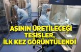 Sputnik V aşısının üretileceği tesisler,ilk kez görüntülendi