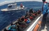 80 kaçak göçmeni Sahil Güvenlik kurtardı