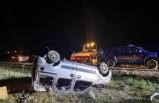 Afyon'da TIR ile hafif ticari araç çarpıştı