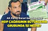 AK Partili Baran'dan flaş Büyükşehir çıkışı!