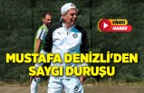 Altay'da Mustafa Denizli'den saygı duruşu