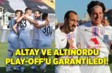 Altay ve Altınordu Play-Off'ta!