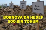 Bornova'da hedef 500 bin tohum