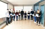 Çiğli'de eczacılık eğitimini tamamlayan kursiyerlere sertifika