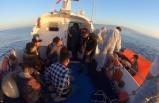 Datça'da 25 kaçak göçmen kurtarıldı