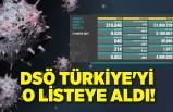DSÖ Türkiye'yi o listeye aldı!