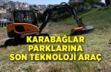 Karabağlar parklarına son teknoloji araç