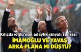 Kılıçdaroğlu'nun adaylık sinyali sonrası Ekrem İmamoğlu ve Mansur Yavaş arka plana mı düştü?