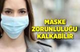 Maske zorunluluğu kalkabilir