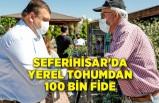 Seferihisar'da yerel tohumdan 100 bin fide