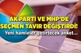AK Parti ve MHP'de seçmen tavır değiştirdi! Yeni hamleler getirtecek anket...