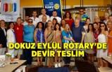 Dokuz Eylül Rotary'de devir teslim
