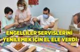 Engelliler servislerini yenilemek için el ele verdi