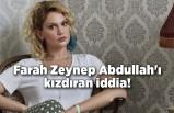 Farah Zeynep Abdullah'ı kızdıran iddia! Yanıtı sosyal medyayı salladı