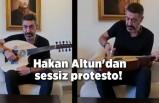 Hakan Altun'dan sessiz protesto! Enstrümanının tellerini kesti