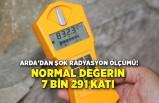 Halil Arda'dan şok radyasyon ölçümü!