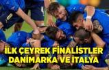 İlk çeyrek finalistler Danimarka ve İtalya oldu