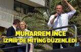 Muharrem İnce, İzmir İl Başkanlığı'nın açılışında miting düzenledi
