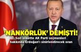 'Nankörlük' demişti! Son ankette AK Parti seçmenleri hakkında Erdoğan'ı sinirlendirecek oran