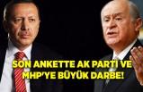 Son ankette AK Parti ve MHP'ye büyük darbe!