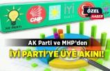 AK Parti ve MHP'den İYİ Parti'ye üye akını!