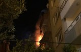 Apartmanda korkutan yangın: 5 kişi dumandan etkilendi