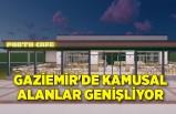 Gaziemir'de kamusal alanlar genişliyor