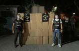 İzmir'de 2 milyon 340 bin kaçak makaron ele geçirildi