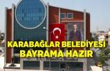 Karabağlar Belediyesi bayrama hazır